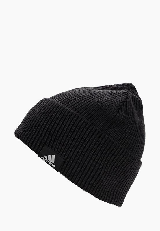 quality design a3766 6ba31 Шапка Adidas CY6026 PERF WOOLIE мужская, цвет черный, размер 54-55. Код  товара  1607632. - купить в интернет магазине с доставкой, цены, описание,  ...