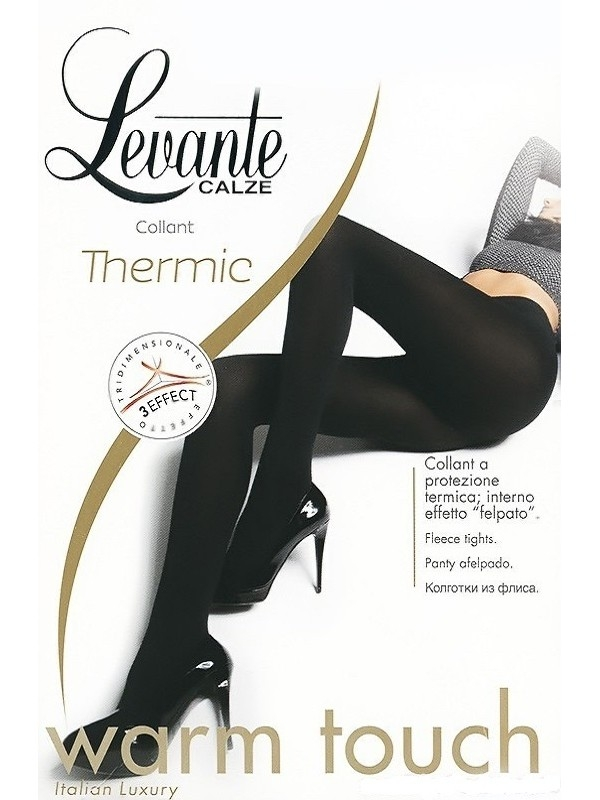 fa9a489704b2 Колготки Levante Thermic женские, цвет nero, размер 3
