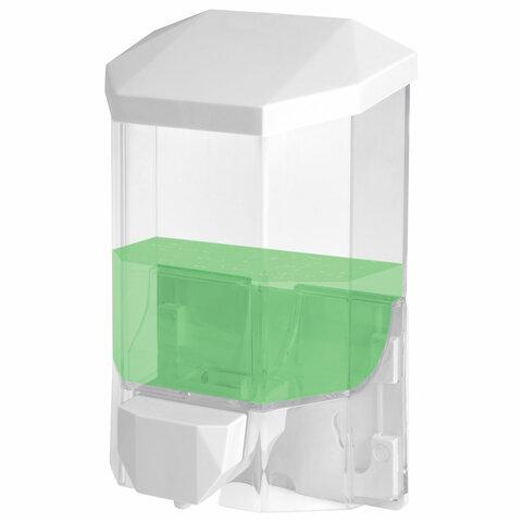Диспенсер для жидкого мыла ЛАЙМА PROFESSIONAL ORIGINAL, НАЛИВНОЙ, 0,5 л, прозрачный, пластик, 605772 — купить в интернет-магазине ОНЛАЙН ТРЕЙД.РУ