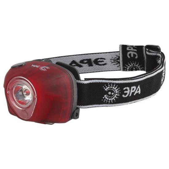 Фонарь налобный ЭРА G3W 3W LED