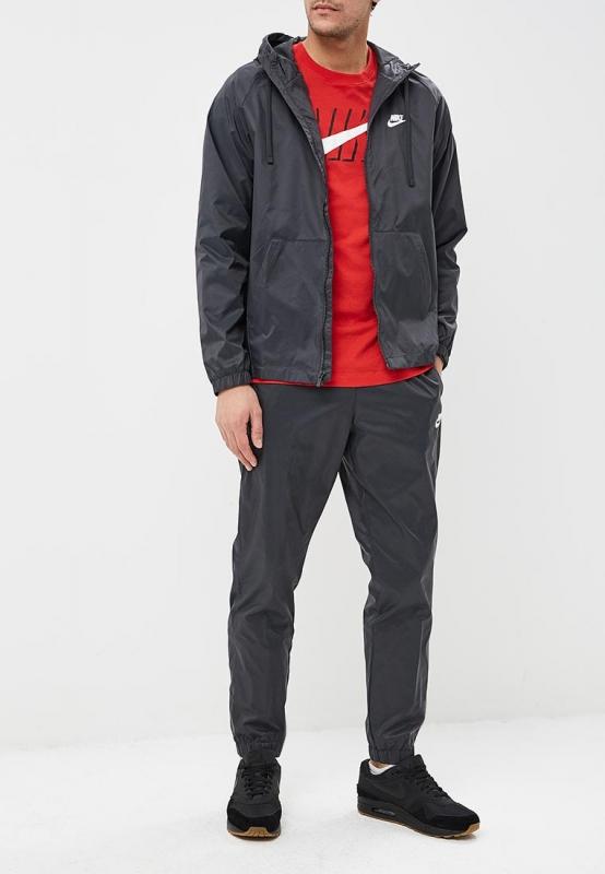 d2607bea Спортивный костюм Nike 928119-060 Sportswear мужской, цвет серый, размер S