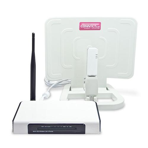 Усилитель сигнала для USB модемов РЭМО Connect 2.4 - Модемы, усилители - фотография.