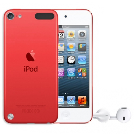 apple ipod touch 5 32gb red md749. Black Bedroom Furniture Sets. Home Design Ideas