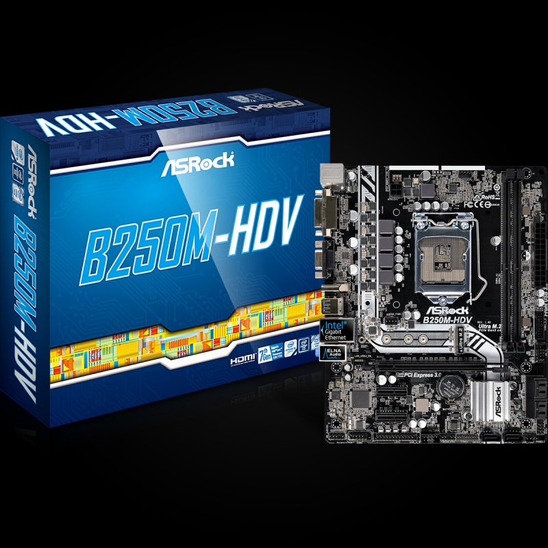 Asrock B250M-HDV Drivers for Windows Download