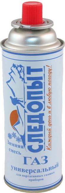 Баллон газовый СЛЕДОПЫТ (зимний) 220г. (цанговый) 0043901 - купить по выгодной цене в интернет-магазине ОНЛАЙН ТРЕЙД.РУ Рязань