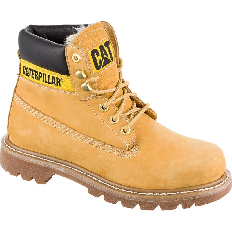 c54789bb9 Ботинки Caterpillar COLORADO FUR Women's Boots P307359 женские, цвет  желтый, рус. размер 36