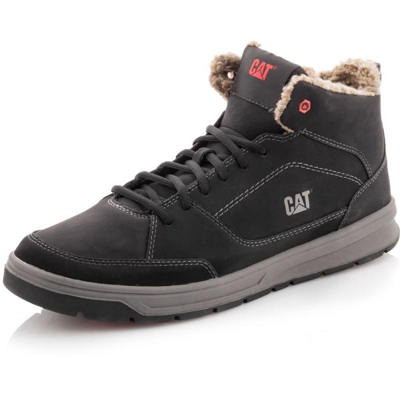 Ботинки Caterpillar DISTILL MID FLEECE Men s Boots P719008 мужские, цвет  черный, рус. размер 039ae75db36