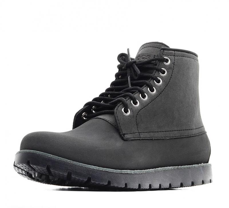Ботинки Crocs Cbblr2BootM 16106-060-660 мужские, цвет черный, рус. размер a5316da8204