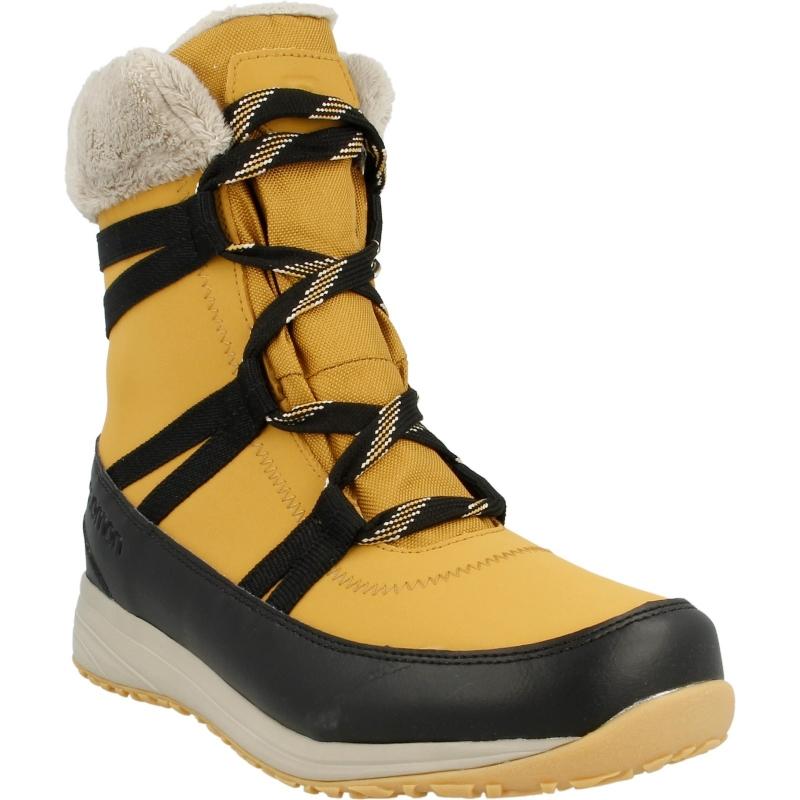 f53138ffc641 Ботинки Salomon HEIKA LTR CS WP L39452200 женские, цвет желтый, рус. размер  35