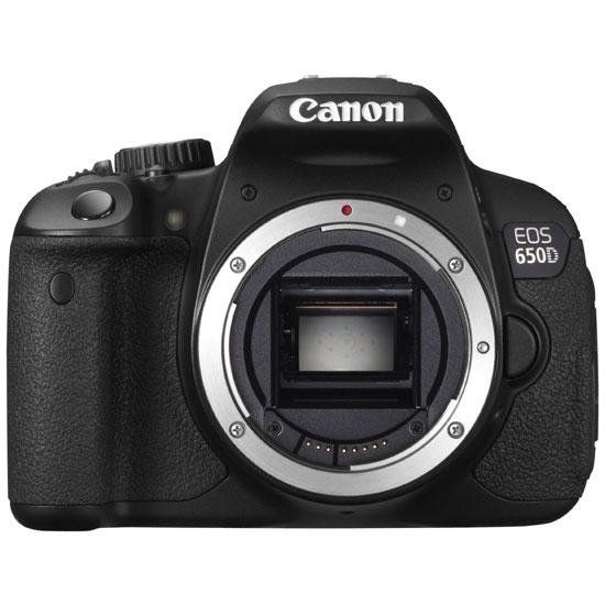 Зеркальный фотоаппарат Canon EOS 650D Body - купить в интернет магазине...