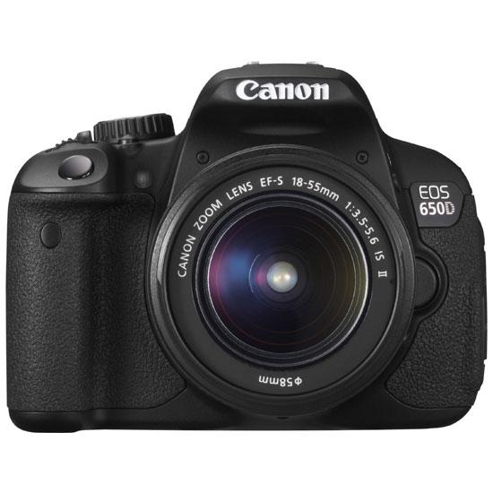 Зеркальный фотоаппарат Canon EOS 650D kit 18-55 IS.