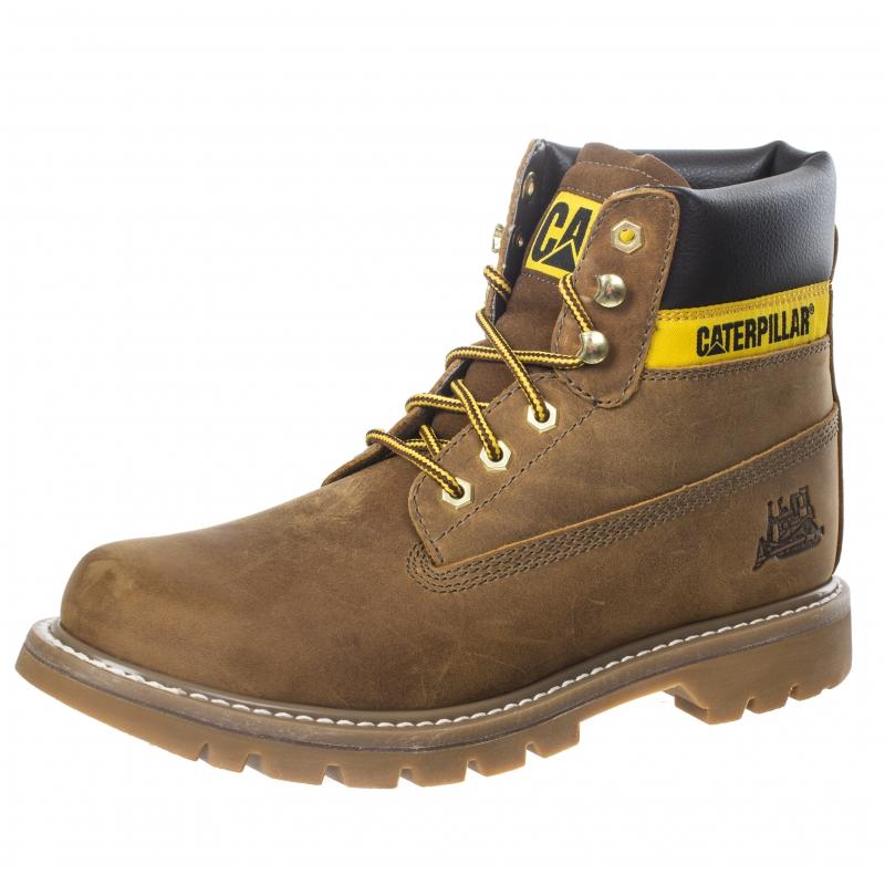 Ботинки Caterpillar 720330 COLORADO мужские, цвет коричневый, размер 45  Изображение 1 - купить в e460a9f6254