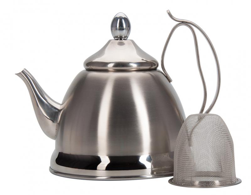 Чайник заварочный REGENT inox Linea PROMO с ситечком, 0,8л — купить в интернет-магазине ОНЛАЙН ТРЕЙД.РУ