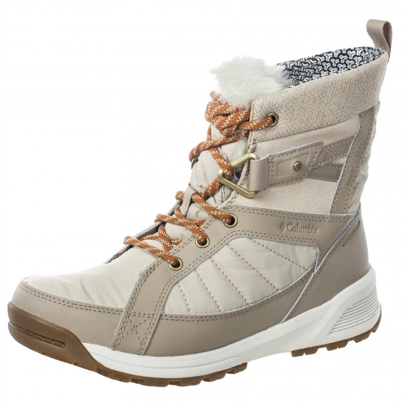 695b78e930a4 Утепленные ботинки Columbia 1791321 WINTER OUTDOOR женские, цвет бежевый,  размер 37.5