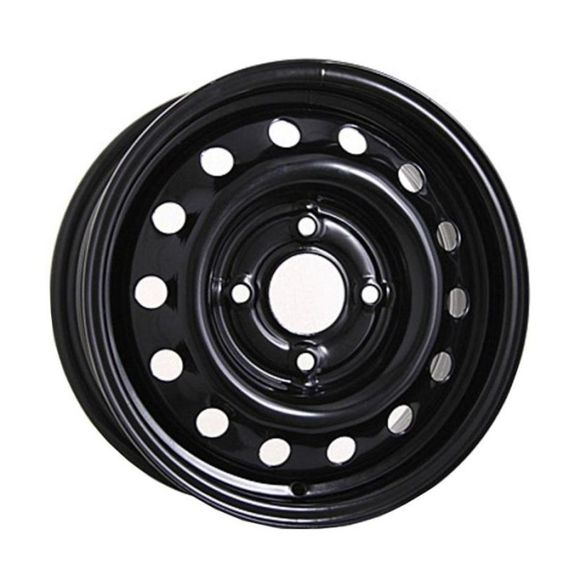 Штампованный диск Trebl 53A49A 5.5x14/4x100 D56.6 ET49 Black New - фото 10