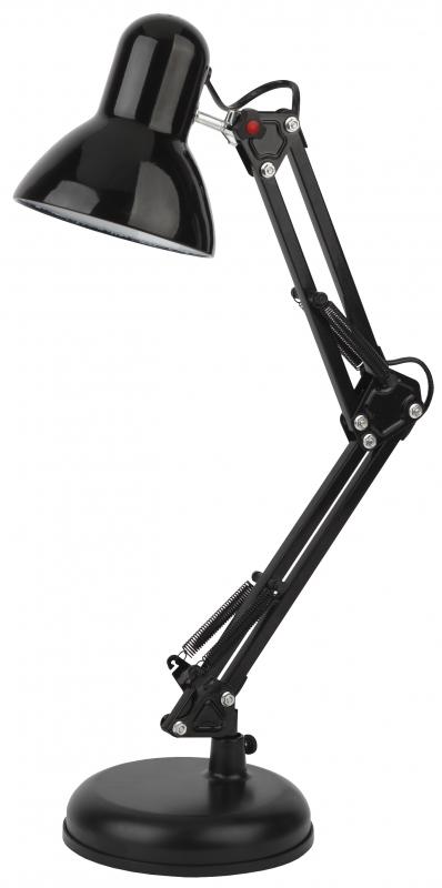 Светильник настольный ЭРА N-214-E27-40W-BK черный — купить в интернет-магазине ОНЛАЙН ТРЕЙД.РУ