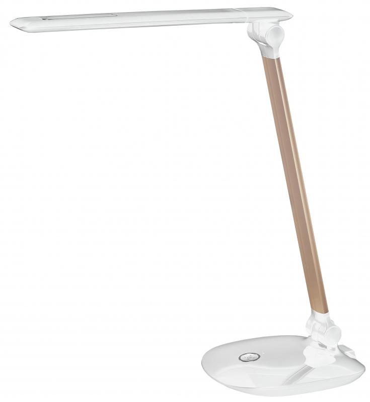 Светильник настольный ЭРА NLED-456-10W-W-G белый с золотом Б0028436 - купить по выгодной цене в интернет-магазине ОНЛАЙН ТРЕЙД.РУ Дзержинск
