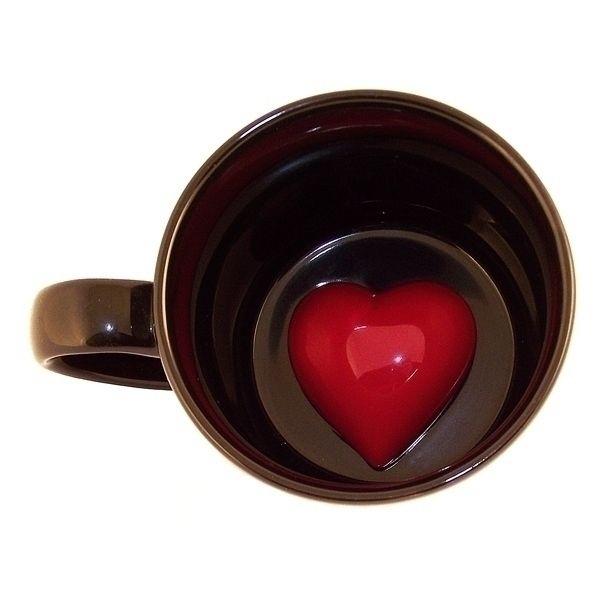 Кружка ЭВРИКА с Сердцем на дне, фаянс, — купить в интернет-магазине ОНЛАЙН ТРЕЙД.РУ