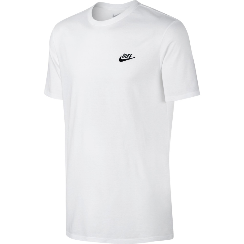 8aae1b9a Футболка NIKE TEE-CORE EMBRD FUTURA 827021-100 мужская, цвет белый ...