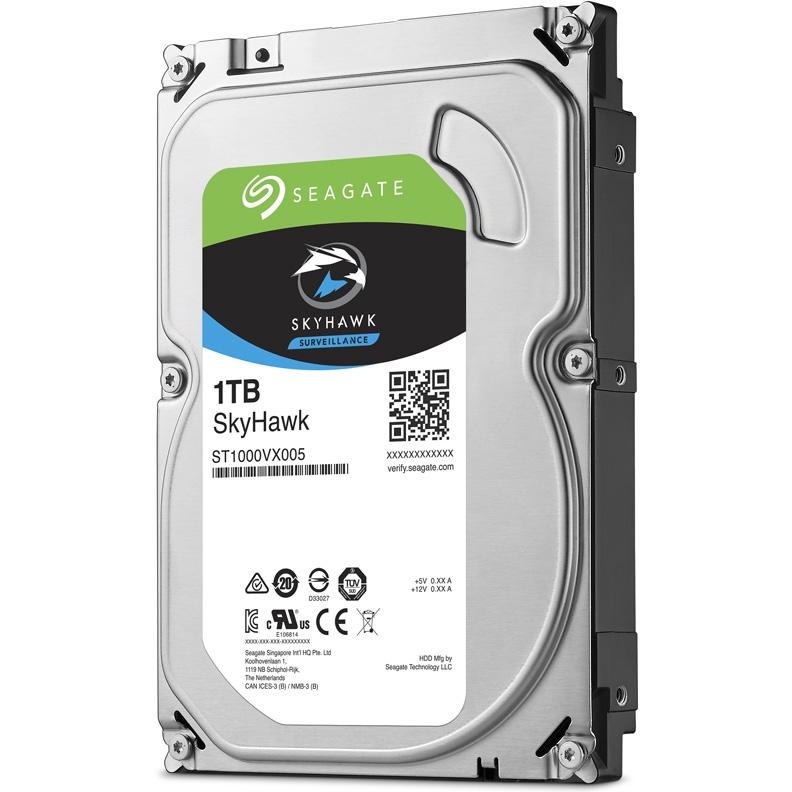 Жесткий диск Seagate SkyHawk 3.5 1.0 Tb SATA III 64 Mb 5900 rpm ST1000VX005 — купить в интернет-магазине ОНЛАЙН ТРЕЙД.РУ