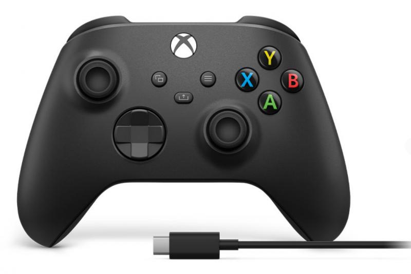 Геймпад Беспроводной Microsoft Xbox Series + кабель USB Type-C, черный - Изображение 2