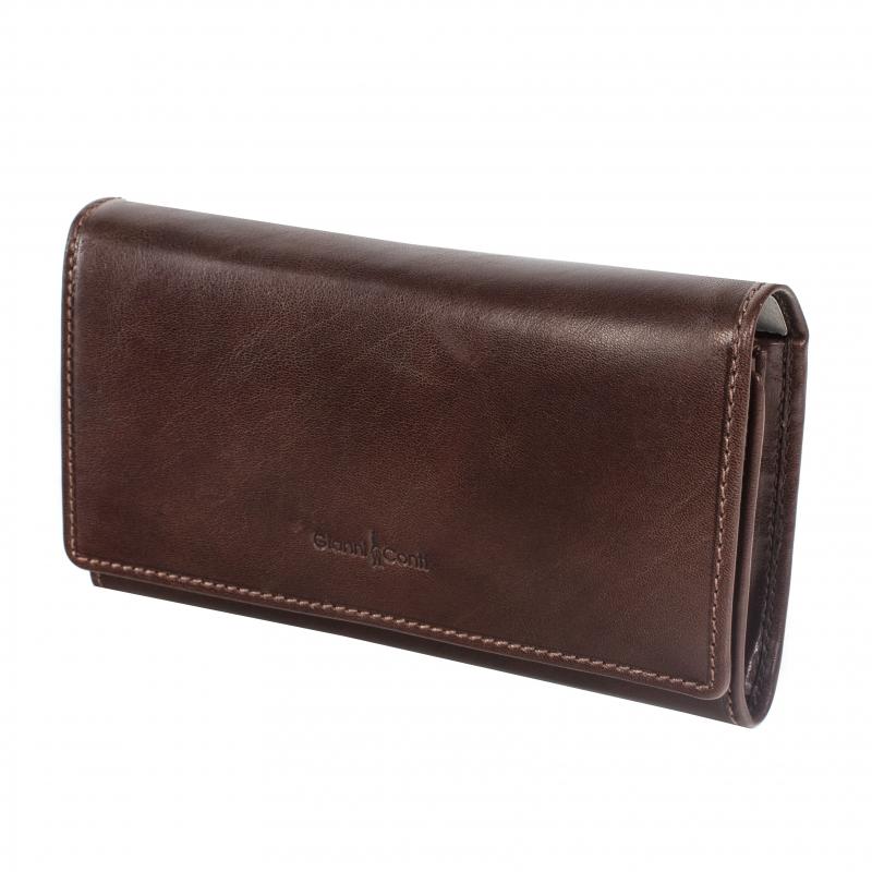 166040876f7d Кошелек женский Gianni Conti 908021 brown, коричневый Изображение 1 -  купить в интернет магазине с