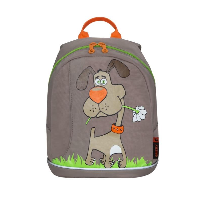 2fcf77e3 Рюкзак детский Grizzly RK-995-1/2 бежевый — купить в интернет ...