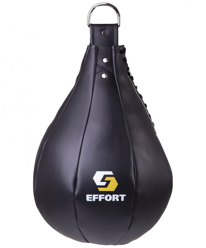 Груша боксёрская Effort Е521, к/з, 5 кг, черный 4627155800468 - купить по выгодной цене в интернет-магазине ОНЛАЙН ТРЕЙД.РУ Тюмень