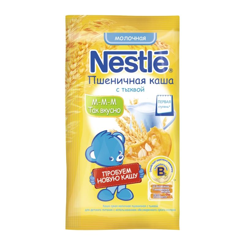 3797e5ccc7b135 Каша молочная Nestle (Нестле) пшеничная с тыквой 1 ступень, с 5 мес ...