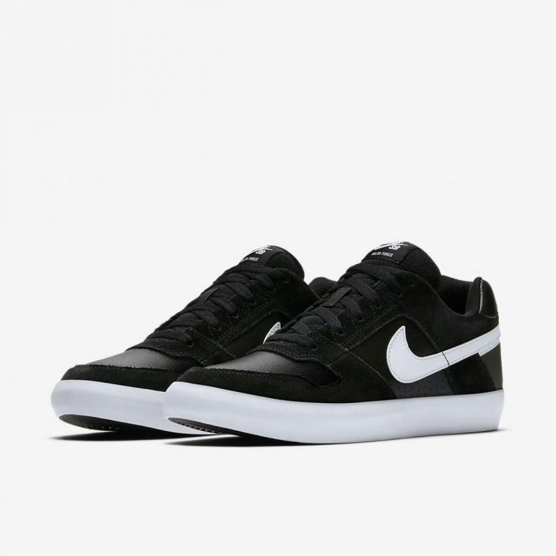 a499ab9dc3a3 Кеды NIKE 942237-010 SB Delta Force Vulc Skateboarding Shoe мужские, цвет  черный, размер 41