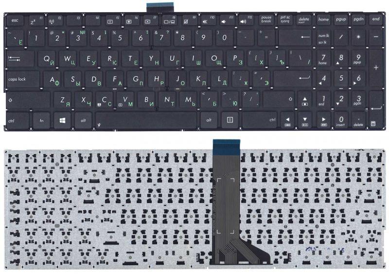 Клавиатура для ноутбука AsusX555L X553 черная (плоский ENTER) — купить в интернет-магазине ОНЛАЙН ТРЕЙД.РУ
