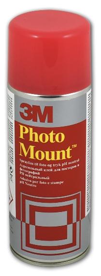 Клей-спрей 3M Photomount 7000042443 400 г — купить в интернет-магазине ОНЛАЙН ТРЕЙД.РУ