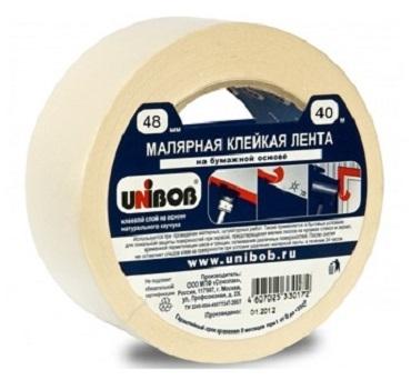 малярная клейкая лента unibob купить