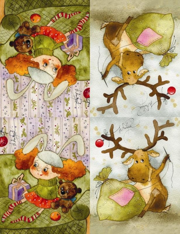 Картинки, открытки от кирдий на новогодние праздники