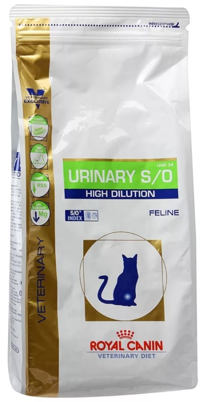 Urinary feline корм royal canin