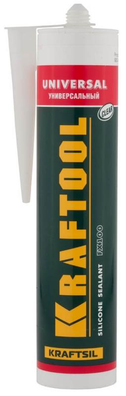 Герметик силиконовый KRAFTOOL 41253-2 силиконовый, прозрачный, 300 мл.- купить в интернет-магазине ОНЛАЙН ТРЕЙД.РУ в Владимире.