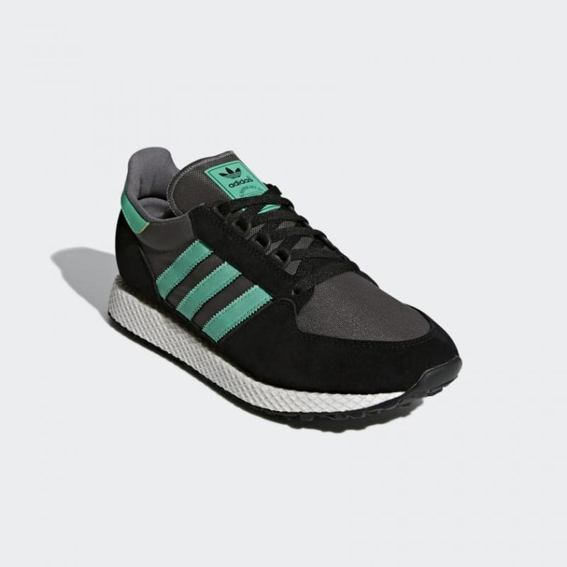 f98c128577f0 Кроссовки ADIDAS B38001 Forest Grove мужские, цвет черный, размер 43  Изображение 1 - купить