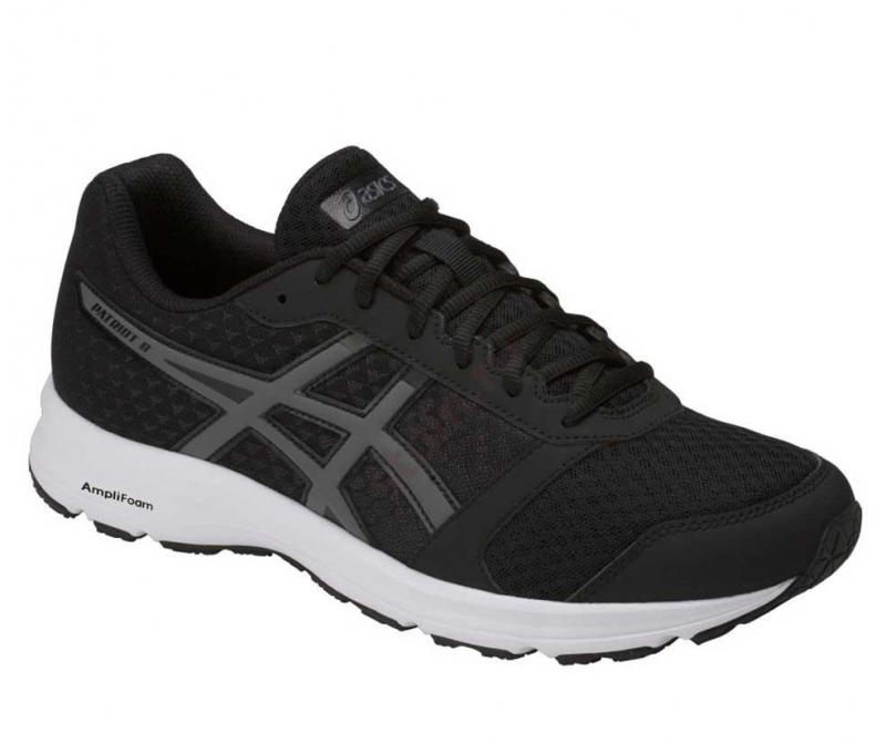 Кроссовки ASICS T823N-9097 PATRIOT 9 мужские, цвет черный, размер 41  Изображение 1 5e060153186