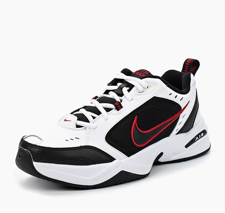 6b1cd8b6 Кроссовки NIKE 415445-101 Air Monarch IV Training Shoe мужские, цвет белый,  размер