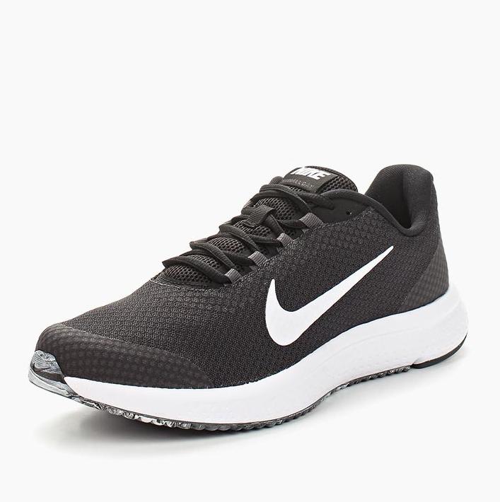 3504dc71 Кроссовки NIKE 898464-019 RunAllDay Running Shoe мужские, цвет черный,  размер 41 Изображение