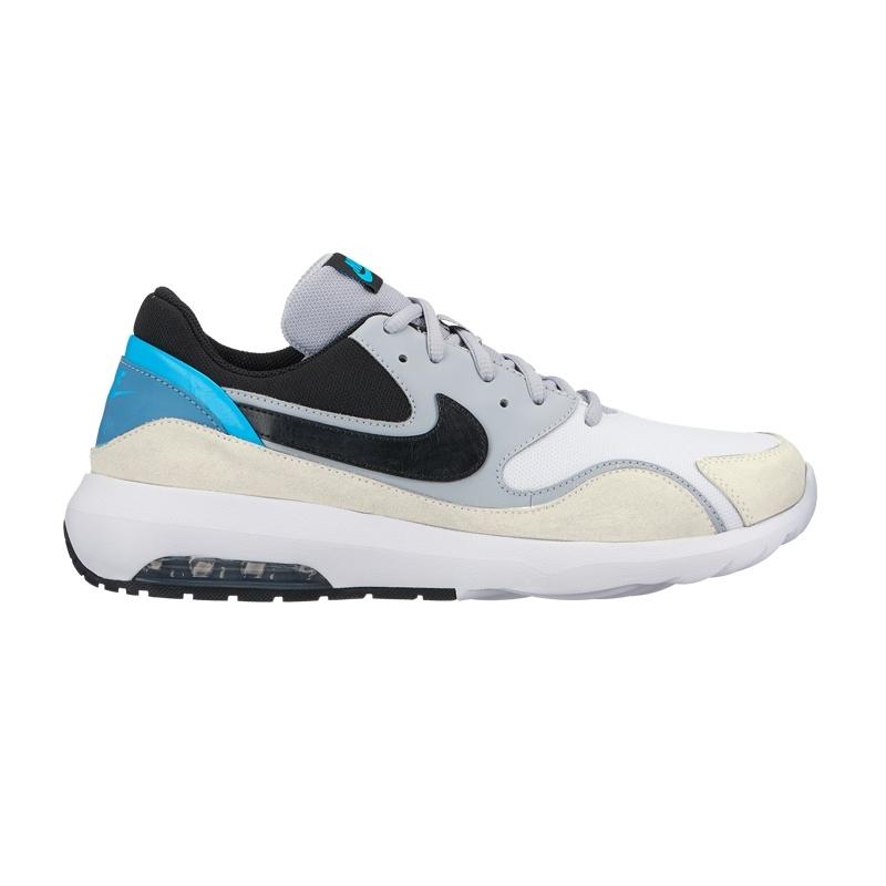 85cb536f2153 Кроссовки NIKE 916781-100 Air Max Nostalgic мужские, цвет серый, размер 41  Изображение