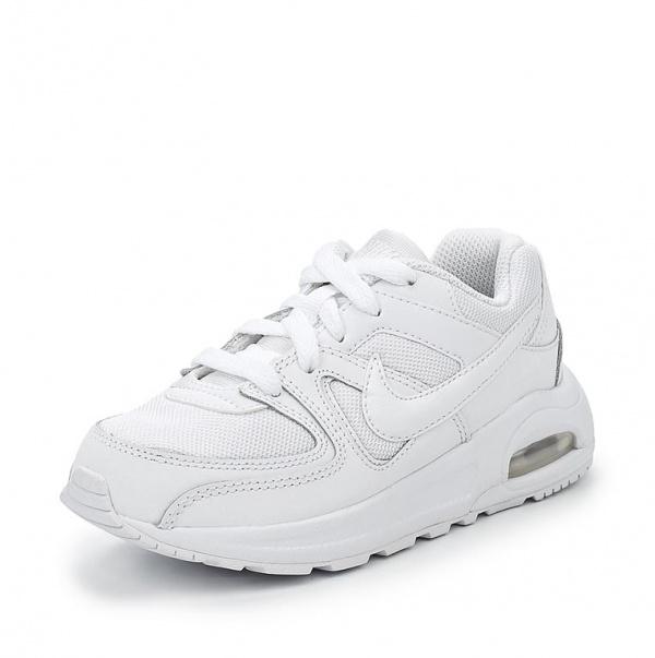 d3cd7f308411 Кроссовки Nike AIR MAX COMMAND 844347-101 для девочки, цвет белый, рус.