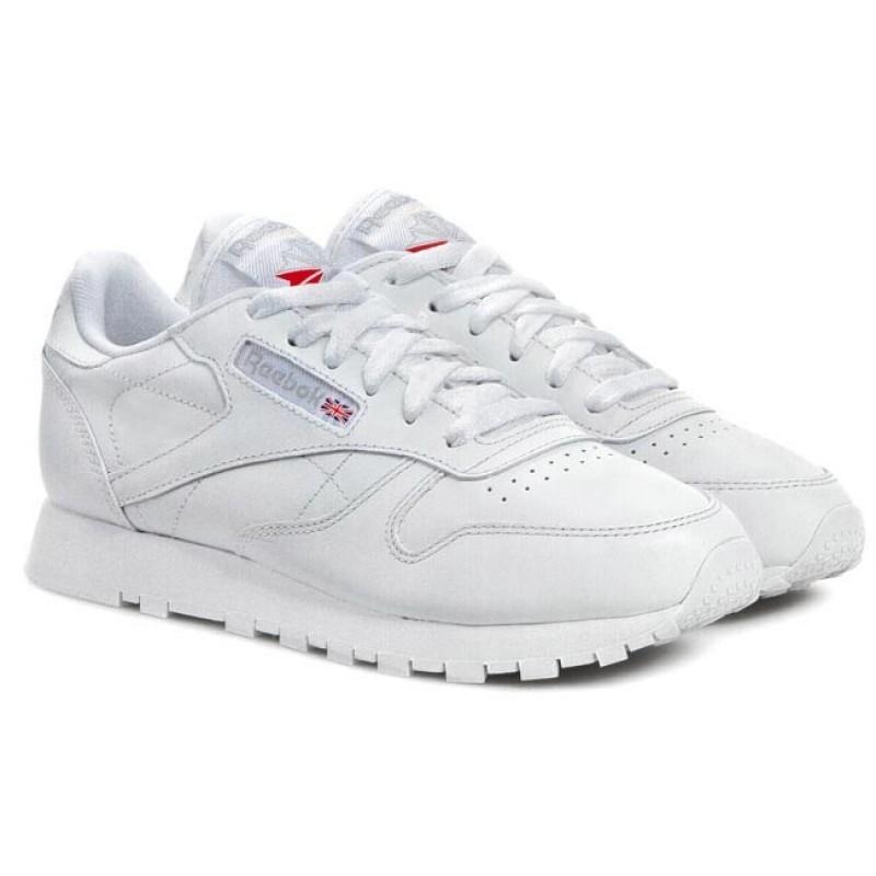 776943e9b Кроссовки REEBOK 2232 CL LTHR женские, цвет белый, размер 35 Изображение 1  - купить