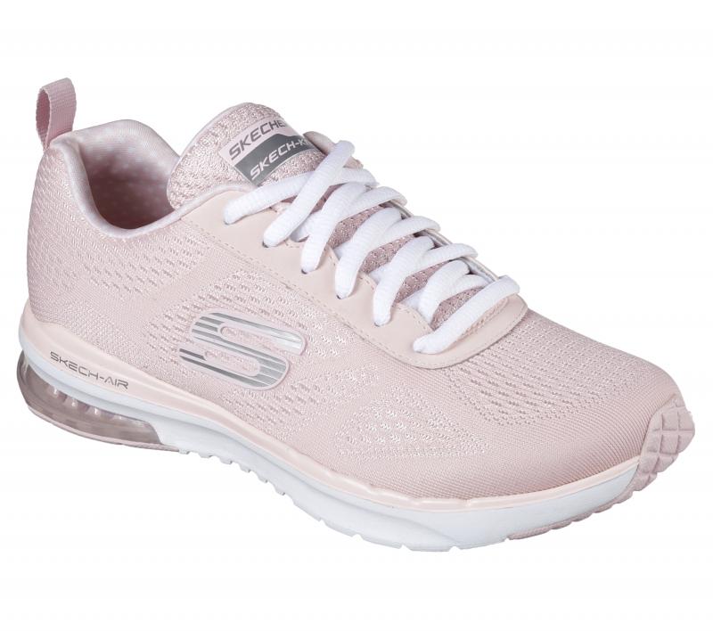 Кроссовки Skechers 12111-LTPK женские, цвет светло-розовый, рус. размер 36 312d97889d0