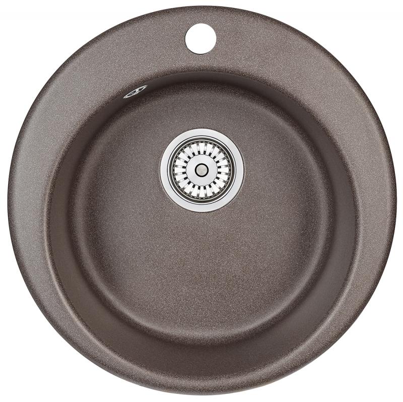 Мойка кухонная Granula GR-4801 песок купить смеситель профсоюзная