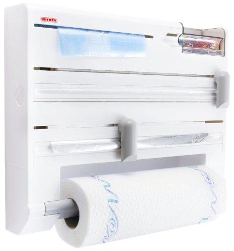 Рулонодержатели для бумажных полотенец, контейнеры и резаки для фольги и плёнки