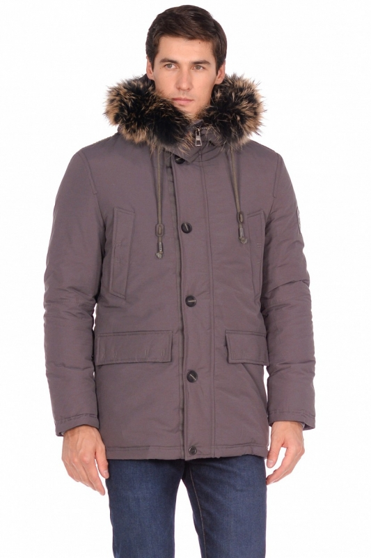 Куртка BAON B538537 мужская, цвет серый, размер L (50) B538537/серый/L - купить по выгодной цене в интернет-магазине ОНЛАЙН ТРЕЙД.РУ Липецк
