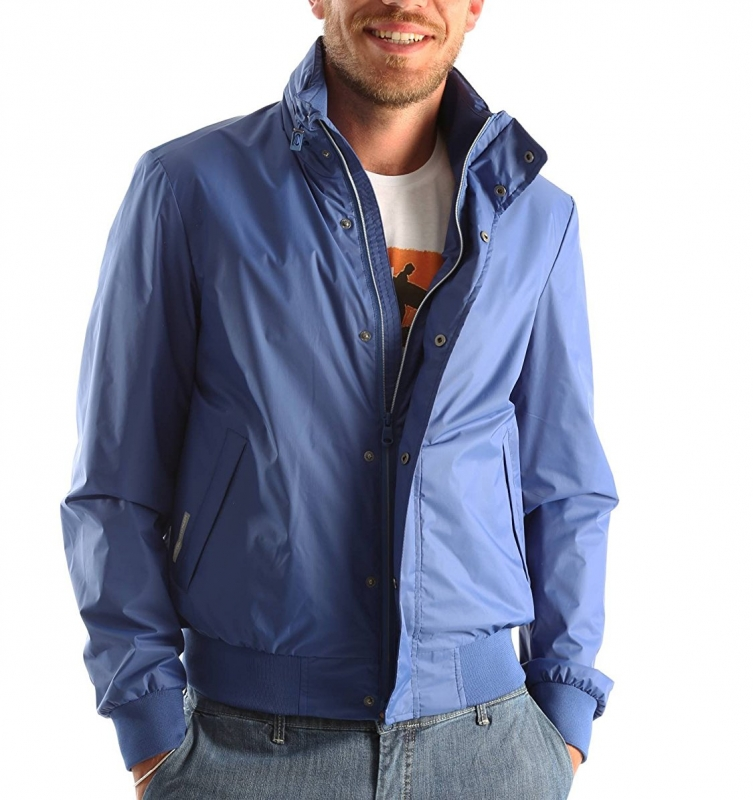 4d07186addb7 Куртка GEOX M6221DT2224F4279 мужская, цвет темно-синий, рус. размер 46  Изображение 1