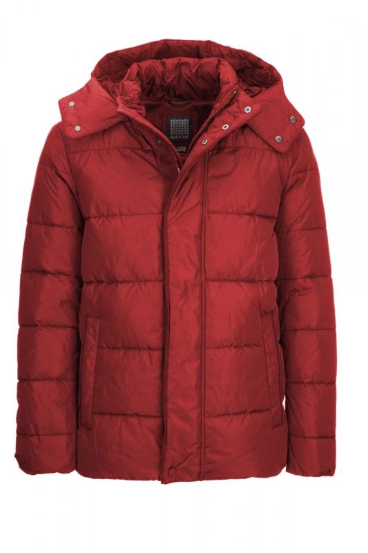 dea2901da049 Куртка GEOX M7428CT2422F7150 мужская, цвет красный, размер 48 Изображение 1  - купить в интернет