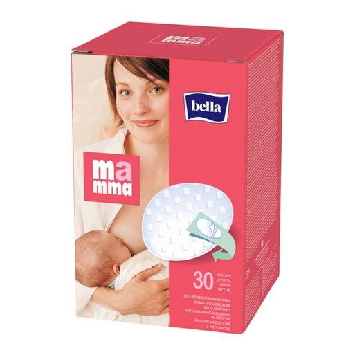 Лактационные вкладыши Bella MAMMA с липучкой, 30 шт. — купить в ... bdfe1f81dfb